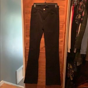 J Brand black flare jeans